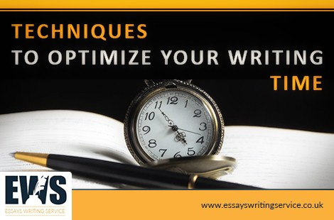 Techniques To Optimize Your Writing Time